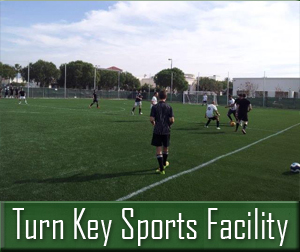 Turn Key Sports Facility